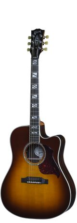 Combining our rich history of hand built acoustics with modern innovations the… Gibson Acoustic, Acoustic Guitar, Slim Body, Guitars, Music Instruments, Cutaway, Modern, History, Trendy Tree