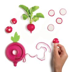 This Kitchen Tool Turns Your Radishes into an Edible Video Game  Kitchn Goes Shopping