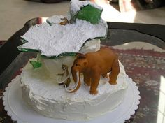 Ice Age cake by sonny_l_p, via Flickr