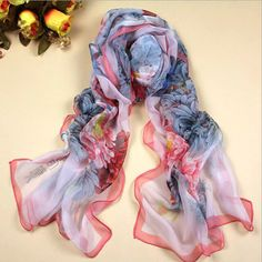 New Arrival Fashion Variety Of Designs Silk Scarves Beautiful Lace Scarf For Women Shawls And Wraps Size 160*50cm