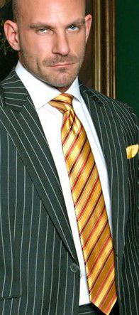 Samuel Colt. Men's Suit (pinstripe)  More Fashion At   http://www.thedillonmall.com,THE MANS SUIT IS A BUSINESS OF ITS OWN