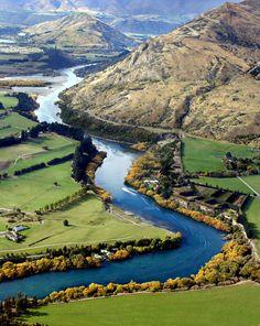Turquoise River - Queenstown, New Zealand