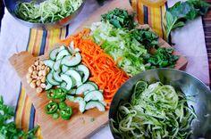 Vietnamese Zucchini Noodle Bowl {Bún Chà} | Uproot Kitchen