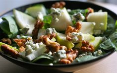 SPIN on Hoco: Quick Fix Apple Walnut Salad Photo