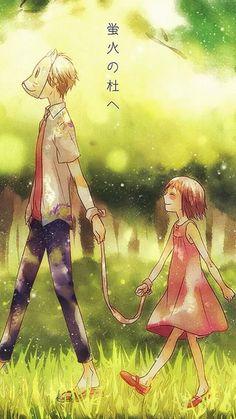 Uuugh the feels Anime/ Movie/ Manga: Hotarubi No Mori E Anime Love, Anime Guys, Manga Art, Manga Anime, Anime Art, Kimi No Na Wa, Noragami, Manga Romance, Bakemono No Ko