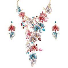 Ever Faith Zirkonia Kristall Schmetterling Art Deco elegant Schmuck-Sets bunt Gold-Ton N04990-2 Ever Faith http://www.amazon.de/dp/B00R2K73MO/ref=cm_sw_r_pi_dp_mKXVvb01YX7KS