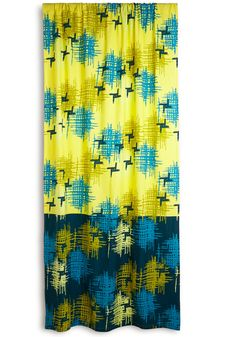 Modern Wing Curtain. Make your guest room feel like an artsy abode with this bright, printed curtain - a ModCloth exclusive! #yellow #modcloth