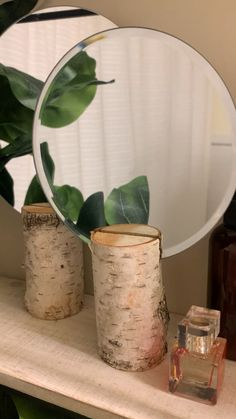Diy Crafts For Home Decor, Diy Crafts Hacks, Diys, Dollar Tree Decor, Creation Deco, Spring Home Decor, Summer Mantle Decor, Diy Mirror, Home Living
