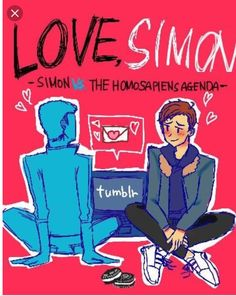 simon vs the homosapien agenda fanart Amor Simon, Love Simon, Lgbt, Simon Spier, Becky Albertalli, Nick Robinson, Great Love Stories, Cute Gay, Backgrounds