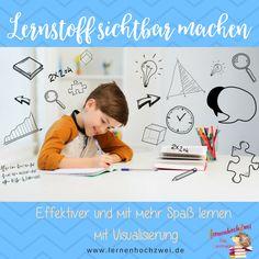 Visualierung - Lernstoff sichtbar machen, Mindmapping, Sketchnotes, Infografiken, Lernposter, Lernen