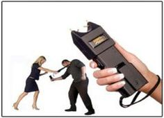 Take out your #StunGun in your hands in any situation where you could be an easy target. http://goo.gl/fFus1X