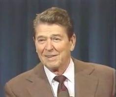 Рональд Рейган рассказывает советские анекдоты