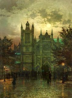 Kai Fine Art is an art website, shows painting and illustration works all over the world. Urban Landscape, Landscape Art, Atkinson Grimshaw, Antoine Bourdelle, Moonlight Painting, St Margaret, Mary Cassatt, Illustration Art, Illustrations