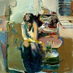 """Linda Christensen: """"Boyfriend Steps"""" at Gail Severn Gallery"""