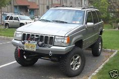 Custom Off-road Rockcrawler Bumper for a Jeep Grand Cherokee. 1993-1998 93-98. ZJ. Free Shipping I make these and have sold quite a few bumpers now. This is a new design that incorporates a winch moun                                                                                                                                                                                 More