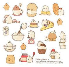 Molang baking