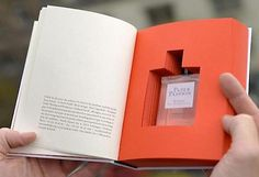 Paper Passion is book-scented perfume by Geza Schoen, Gerhard Steidl, and Wallpaper* magazine, packaging by Karl Lagerfeld and Steidl