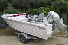 Polycraft 4.10 Challenger with 50HP Honda Outboard