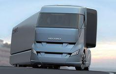 Mechanical Hunter: concept truck that proposes Isuzu's Future Trucks, New Trucks, Future Car, Cool Trucks, Cool Cars, New Car Photo, Heavy Truck, Truck Design, Futuristic Cars