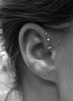 This is pretty cool but I don't think I'd get my ear pierced this way...yet. Jk, but who knows?