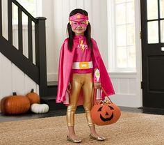 Pink Superhero Costume #PotteryBarnKids