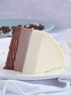 Triple mousse de chocolate / Miicakes Nutella, Chocolate Cupcakes, Clean Eating Snacks, Vanilla Cake, Keto Recipes, Cheesecake, Food And Drink, Sweet, Tres Chocolates