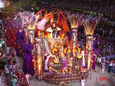 Rio Carnival, Rio de Janeiro, Brazil