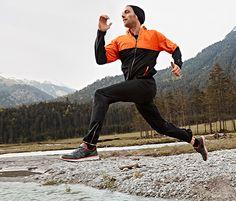 Męska ciepłochronna #kurtka do biegania #tchibo