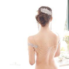 Collana per spalle | Butterfly Necklace shoulders di Jonida Ripani su DaWanda.com