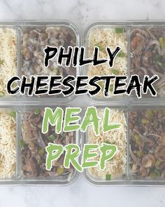 Shrimp Tacos Discover Philly Cheesesteak Meal Prep Ditch the traditional style Philly Cheesesteak sandwich this week and make this super quick and simple Philly Cheesesteak Meal Prep instead! Ready in under 30 minutes this is your new go to meal prep! Easy Healthy Meal Prep, Easy Healthy Recipes, Healthy Low Fat Meals, Simple Meal Prep, Simple Clean Meals, Low Fat Snacks, Healthy Eating, Healthy Weight, Healthy Snacks