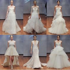 """""""First frost exhales"""" @weddingsalonofmanhasset this weekend ! Join in on the truck show showcasing #Fall2016 #Rivini & #Alynebridal first time in #NY area! Be the first to say yes! xoRV #fashion #bride #wedding #dress #engaged #manhasset #nyc #love"""
