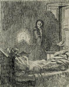 """gucciballs: """" deathandmysticism: """" Paul-Albert Besnard, Discreet, 1900 """" going for a midnight snack """""""