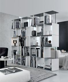 Jesse - Mobili Arredamento Design - Librerie freestanding - MANHATTAN