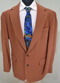 MINT DKNY mens gray striped 3 button sport coat blazer 44XL 44 ...
