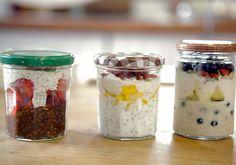 Simples e saudável: lanches práticos em potinhos