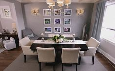 After: Dining Room -- Property Brothers