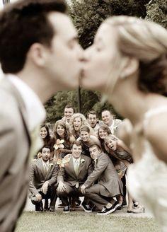 Хорошая идея для свадебной фотографии