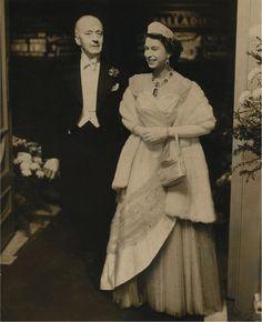 Queen Elizabeth II  - Elizabeth is wearing one of my favorite tiaras!