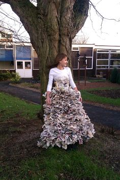 Art Newspaper dress