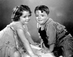 Spanky McFarland and Marianne Edwards