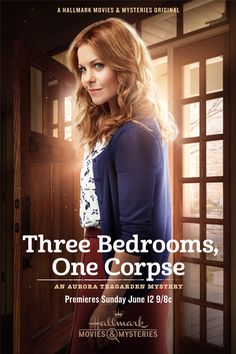 """Series - Its a Wonderful Movie - Your Guide to Family Movies on TV: Candace Cameron Bure stars in """"Three Bedrooms, One Corpse: An Aurora Teagarden Mystery"""" Hallmark Movie Channel, Hallmark Movies, Candace Cameron Bure, Love Movie, Movie Tv, Movies Showing, Movies And Tv Shows, Hallmark Mysteries, Site Pour Film"""
