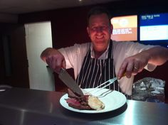 My fave Sunday roast served up by Dorian at the Carlton hotel every Sunday