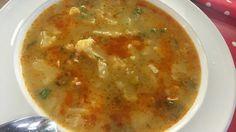 Zemiakovo-karfiolová polievka