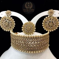 61 ideas for asian bridal jewellery indian jewelry india Indian Jewelry Sets, Indian Wedding Jewelry, India Jewelry, Bridal Jewelry, Silver Jewelry, Gold Jewellery, Indian Bridal, Arabic Jewelry, Jewellery Sale
