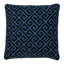 Eichholtz BV - The epitome of luxury living Blue Pillows, Accent Pillows, Throw Pillows, Luxury Living, Art Deco, Textiles, Sofa, Blanket, Design