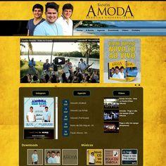 Novo site da @amodaoficial confiram! #webstagram #site #conectados #portifolio #3B #instacool #novo #new #virtual #vidadigital