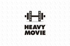 HEAVY MOVIE - $400 (negotiable) http://www.stronglogos.com/product/heavy-movie #logo #design #sale #movie #theater #media #entertainment