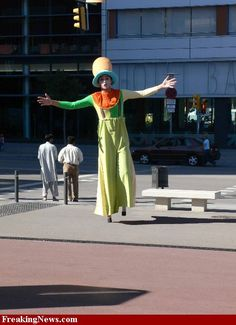 12 Foot Tall Clown
