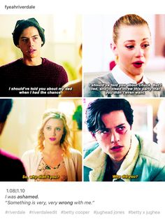 Truthfulness, respect, and strength for each other. #Bughead