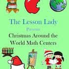 Christmas Around the World Math Worksheets for Centers and Stations! Included in this 26 page packet are twelve math activities based on winter and Christmas celebrations around the world. $
